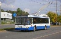 В Днепропетровске на один день троллейбус «кольцо А» изменит маршрут