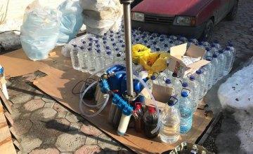Под Харьковом двое мужчин наладили производство суррогата