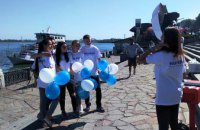 Днепру -244! Позитив в кадре от партии «Наш край» (ФОТО, ВИДЕО)