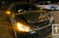 На Гагарина столкнулись две легковушки: один из водителей госпитализирован