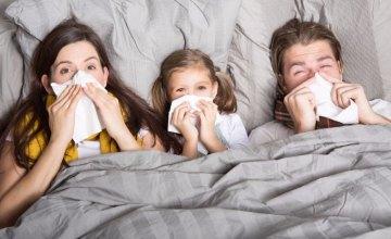 В Днепропетровской области резко увеличилось количество заболевших ОРВИ и гриппом