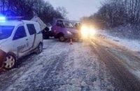 Во Львовской области пассажирский автобус столкнулся с «ГАЗель»: есть пострадавшие (ФОТО)