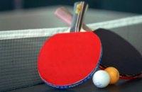 Юные спортсмены Днепропетровщины завоевали 15 медалей на командном чемпионате Украины по настольному теннису