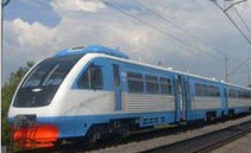 В мае «Укрзалізниця» введет дополнительный поезд Киев-Днепропетровск
