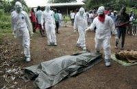 Уровень смертности об Эболы достиг 70%