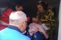 На Днепропетровщине во время пожара пострадал маленький ребенок