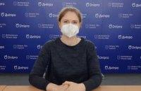 Актуальні дані щодо захворюваності на COVID-19 у Дніпрі
