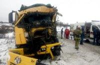 На Днепропетровщине столкнулись два грузовых авто: есть пострадавшие (ФОТО)