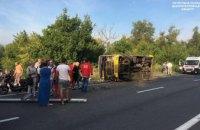 Стали известны предварительные причины масштабной аварии с маршруткой под Днепром
