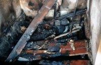 В Широковском районе горел частный дом: внутри обнаружили тело хозяйки дома