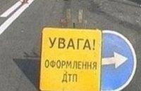 За сутки на дорогах Днепропетровской области травмировались 15 человек