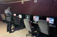 На Днепропетровщине закрыли сразу два подпольных зала игровых автоматов
