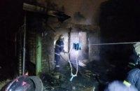 Спасатели в Кривом Роге ликвидировали возгорание в летней кухне