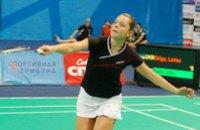 Днепропетровская бадминтонистка Грига заняла 2-е место в турнире Russian Open Grand Prix 2008
