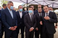 Рабочий визит Президента: что осмотрел в Днепропетровской области  Владимир Зеленский