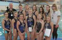 Днепровские ватерполистки стали серебряными призерами чемпионата Украины