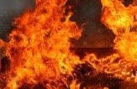 В Днепре во время пожара в квартире пятиэтажного дома  мужчина получил ожоги