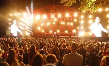 У Дніпрі на День міста влаштували видовищний концерт класичної музики просто неба