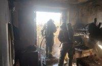 В Кривом Роге во время пожара спасли пожилую женщину