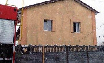 В АНД районе Днепра произошел пожар в двухэтажном доме (ФОТО)