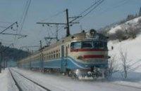 УЗ на 18 декабря  назначила дополнительные поезда
