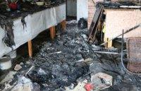 В Днепре на бульваре Славы горела пекарня (ВИДЕО)