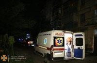 Ночью в Днепре горел пятиэтажный дом: есть пострадавшие (ВИДЕО)