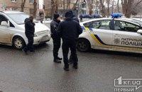 На Днепропетровщине в полицейский Prius врезался водитель на Mercedes (ФОТО)