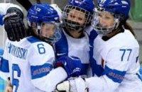 Днепровская команда «Королевы Днепра» победила во всех трех поединках второго тура Чемпионата Украины по хоккею среди женщин