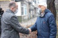 «История, у которой нет срока давности»: Геннадий Гуфман посетил днепрян, переживших блокаду Ленинграда