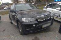 В Днепре обнаружили элитный автомобиль, не зарегистрированный ни в одной базе МВД