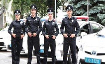 В Одессе новые патрульные полицейские приступят к работе уже на следующей неделе