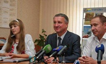 Иван Куличенко провел открытый урок в днепропетровской школе