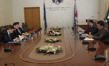 Глеб Пригунов: «Фундамент отношений между Латвией и Днепропетровщиной заложено»