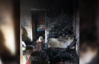 В Криворожском районе при пожаре в собственном доме  погибла женщина
