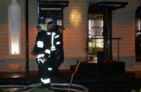 Пожар в кофейне в центре Днепра: пострадали 2 женщины (ВИДЕО)