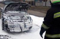 В Павлограде на ходу загорелась легковушка