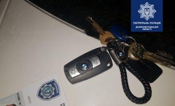В Днепре патрульные задержали пьяного водителя с документами полицейского
