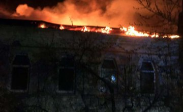 В Днепре горел жилой дом: огонь уничтожил более 150 кв.м