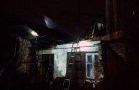 В Новокодацком районе Днепра пожарные ликвидировали возгорание хозпостройки