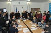 Исполком Днепровского горсовета: вице-мэр под охраной, депутаты – без денег для округов (ФОТО)