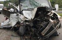 В Каменском спасатели деблокировали пассажира из изувеченной в ДТП машины