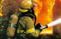 В Днепре на пр. Яворницкого горели гаражи