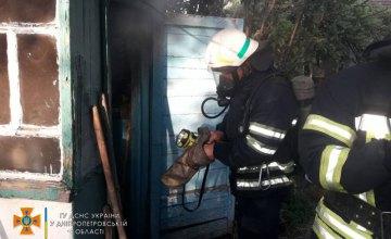 В Каменском во время пожара погиб мужчина
