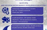 Что сегодня происходит на дорогах Днепропетровщины: информация Служба автодорог