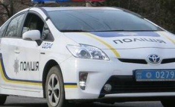 В Кривом Роге легковушка протаранила авто патрульных