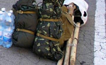 Отправление колонны сотрудников ГУ МЧС Днепропетровской области в Западную Украину (ФОТОРЕПОРТАЖ)