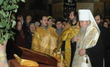 На Рождество в Днепропетровске пребывают мощи царицы Феофании