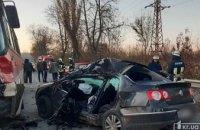 Утром в Кривом Роге произошло смертельное ДТП: столкнулись автобус и две легковушки