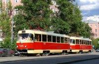 Сегодня в Днепре два трамвайных маршрута закончат свою работу раньше